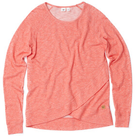 tentree Acre Longsleeve Shirt Women red